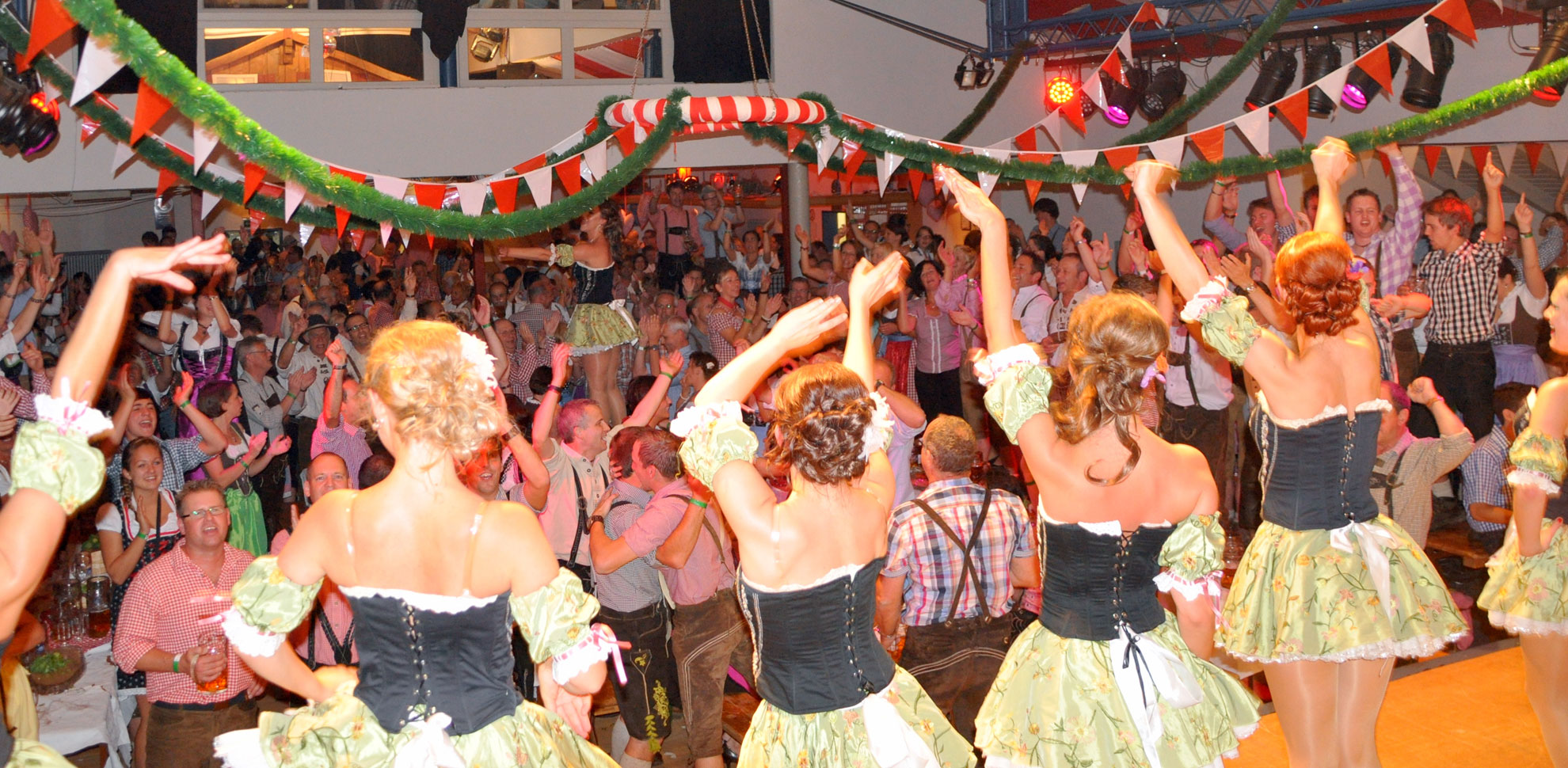 Party-Stimmung auf der Wies'n Gaudi in Eicherscheid